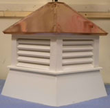 18'' VINYL SHED CUPOLA COPPER ROOF
