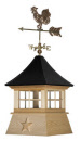 STAR CUPOLA/weathervane