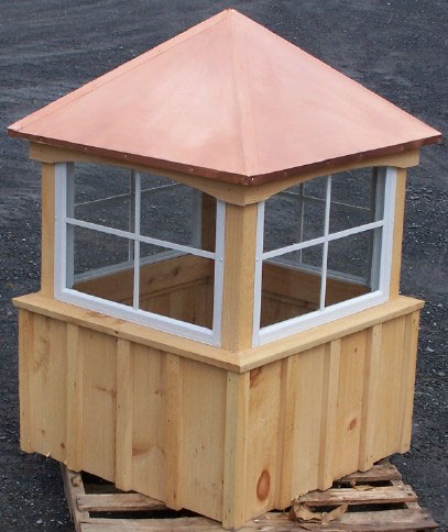1 2 Car Garage Cupolas